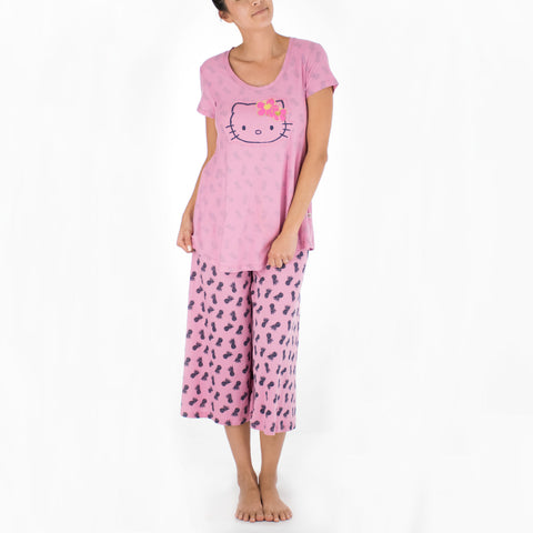 'IOLANI x HELLO KITTY PINEAPPLE TEE + PANT SET