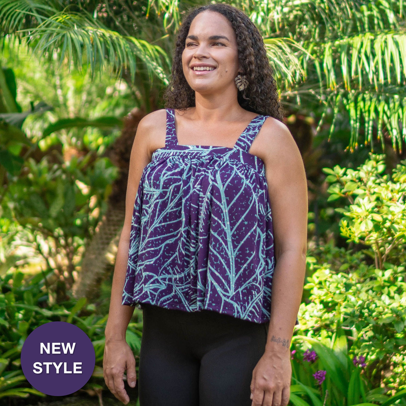 WAIPIʻO BABYDOLL KNIT TOP