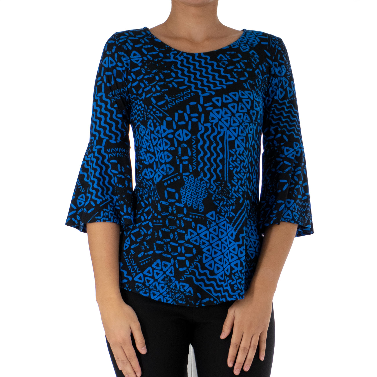 KAPA BELL SLEEVE TOP