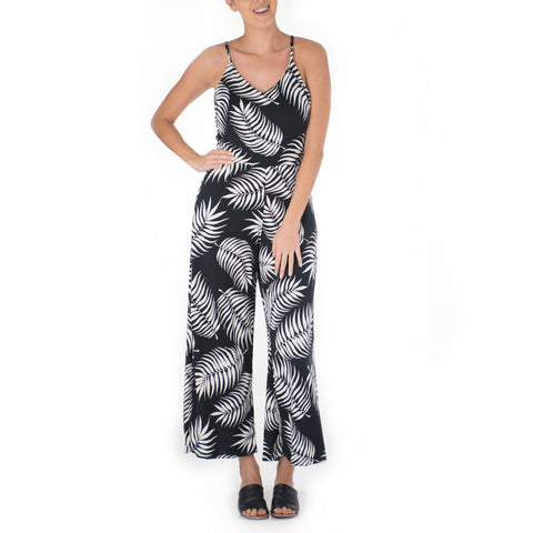 LI'I STRAPPY KNIT JUMPSUIT
