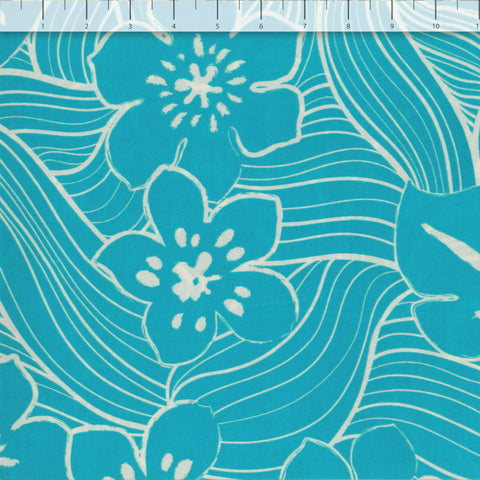 TROPICAL TUMBLE KNIT FABRIC