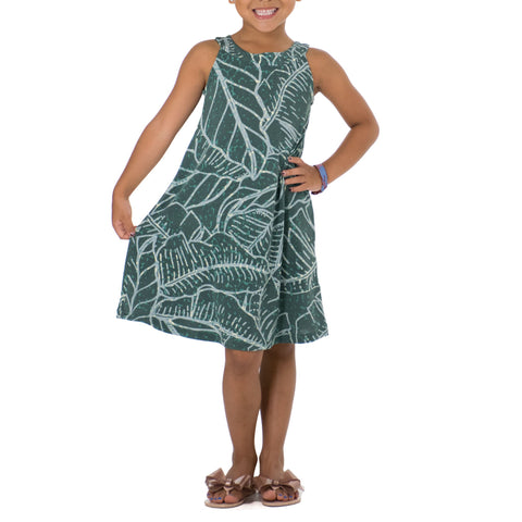 WAIPIʻO CLEO NECK KNIT DRESS