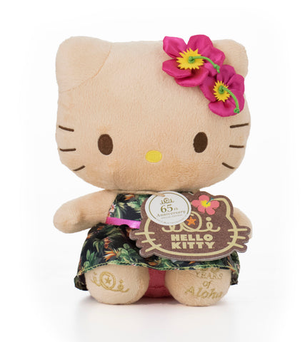 "'IOLANI x HELLO KITTY 65th ANNIVERSARY 8"" PLUSH SE"