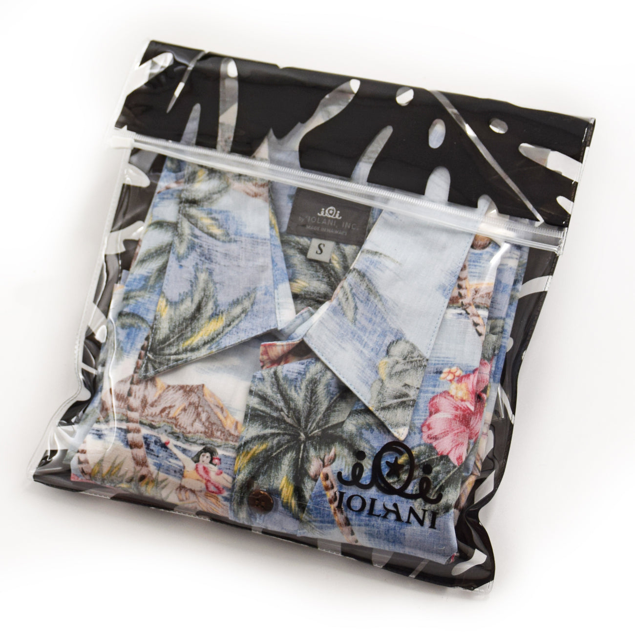 COCO ISLE BLUE ALOHA SHIRT + MASK GIFT SET