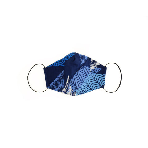 GEOMETRIC NAVY MASK