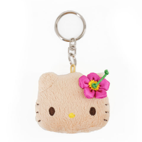 'IOLANI x HELLO KITTY MINI PLUSH KEYCHAIN