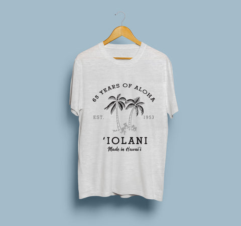 'IOLANI PALM 65th ANNIVERSARY T-SHIRT