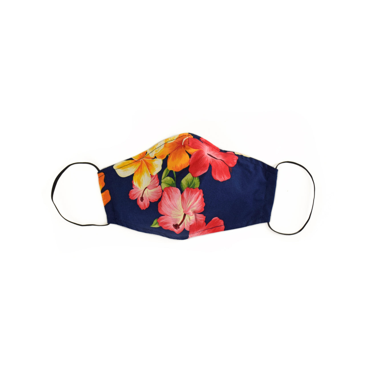 HIBISCUS NAVY MASK
