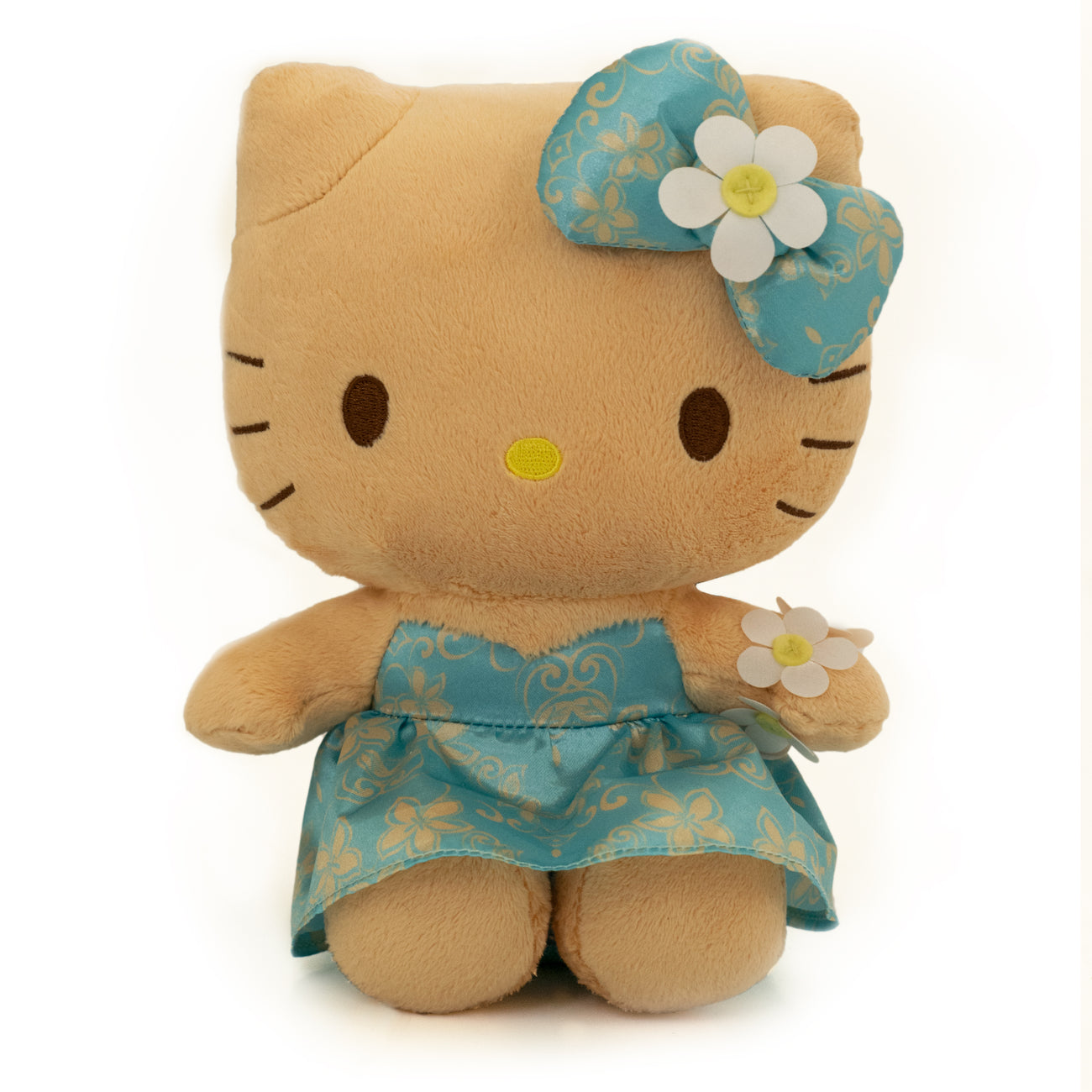 "'IOLANI x HELLO KITTY MELIA BLUE 8"" PLUSH"