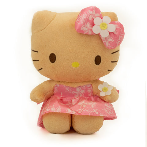 "'IOLANI x HELLO KITTY MELIA PINK 8"" PLUSH"