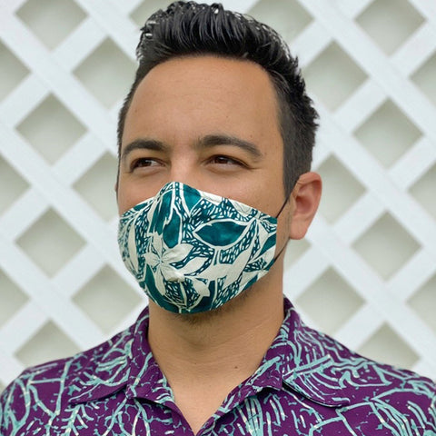 Eleu Teal Mask