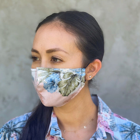 Coco Isles Coral Mask + Queen's Medical Center Donation
