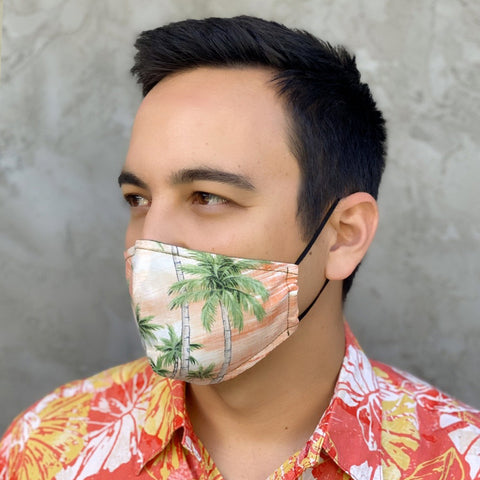 Port of Aloha Orange Mask + Queen's Medical Center Donation