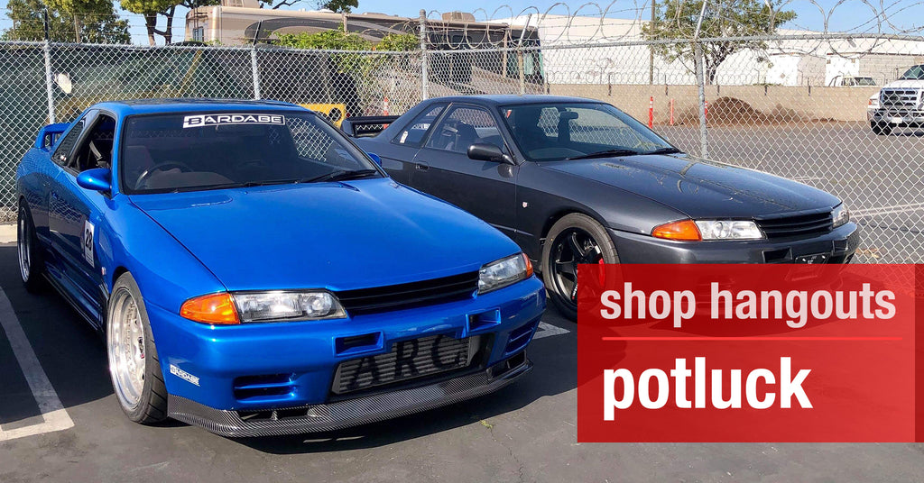 Shop Hangouts: Skyline Syndicate & Saurus USA Potluck