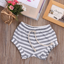 Leo Striped Baby Bloomers