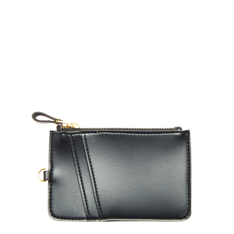 Coin & Card Access Purse Black