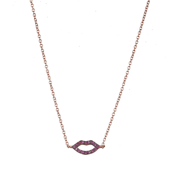 Little Kiss Short Necklace