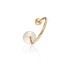 Open Pearl Ring Gold