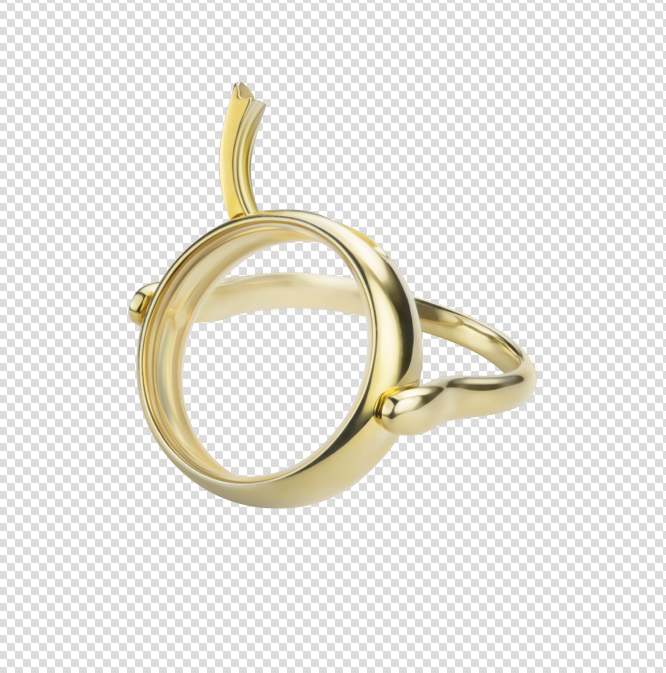 Open Locket Ring