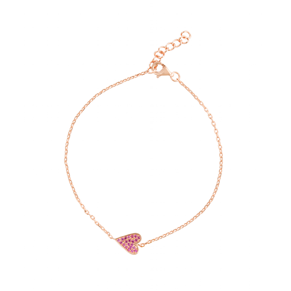 Cupid's Arrow Heart Bracelet