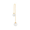Drop Pearl Earring Gold