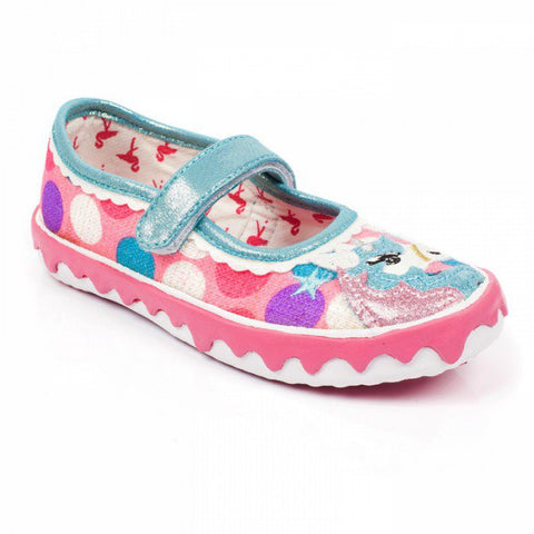 Misty Reins Irregular Choice Childrens Unicorn Trainers Pumps