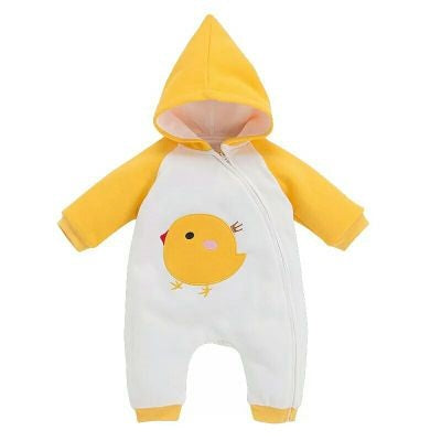 Happy Yellow Chick Pramsuit