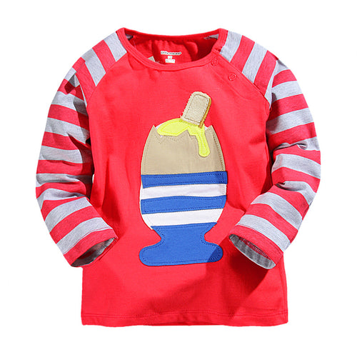 Eggs and Soldiers Crimson Top