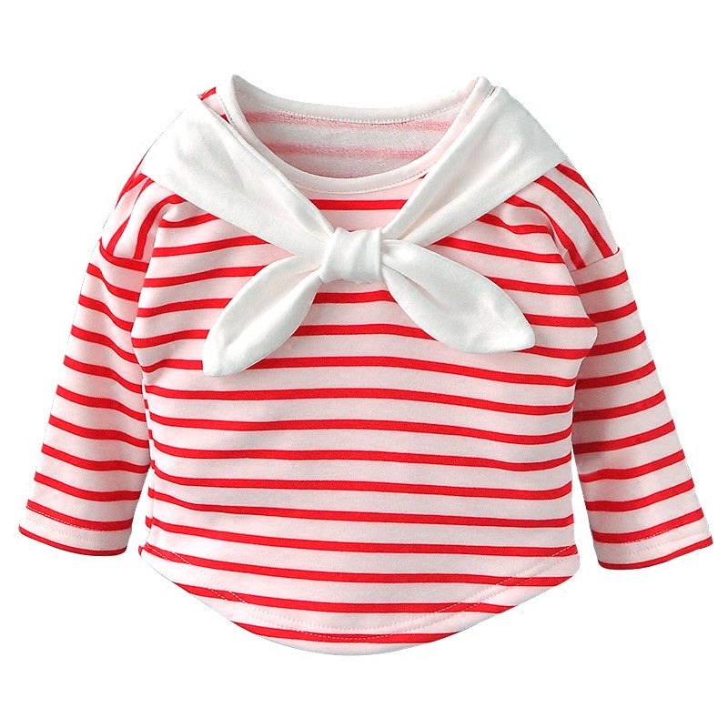 Red Stripe Nautical Top