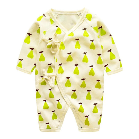 Green Pear Baby sleepsuit