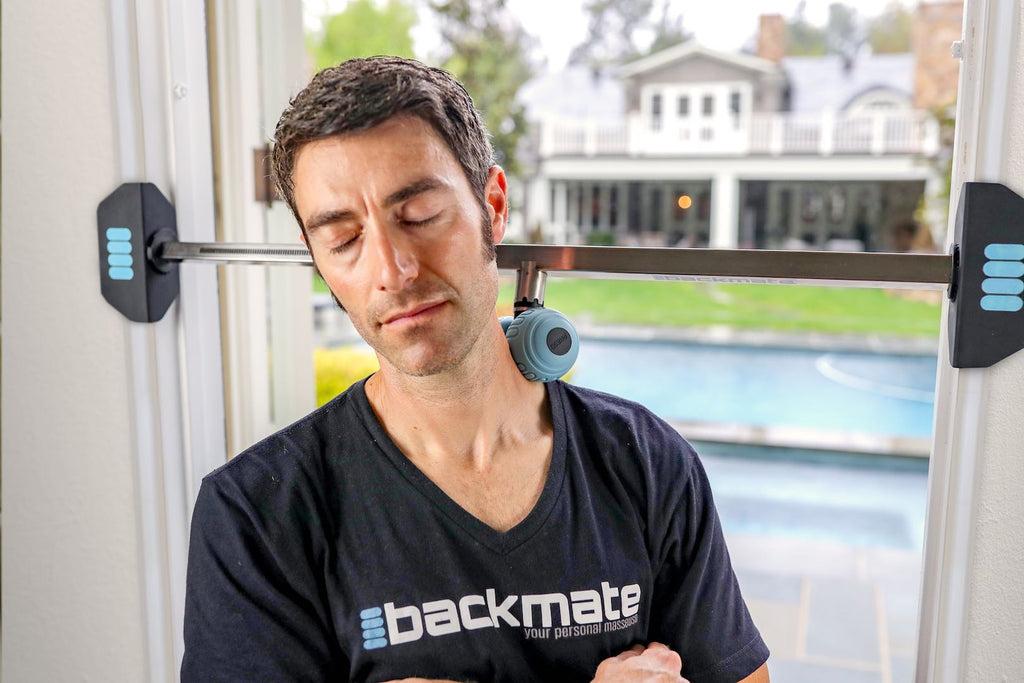 Using a Backmate for a Neck Muscles Workout