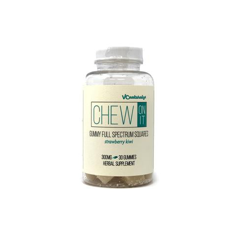 VC Naturalz - Chew On It - Gummy Squares 300mg