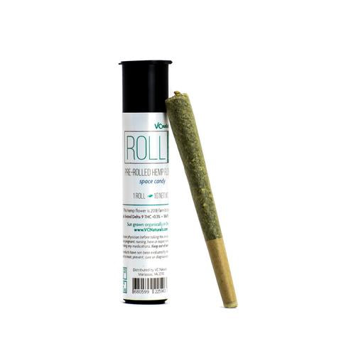 VC Naturalz - Roll It Up - Pre Rolled Hemp Flower - Single (1 Gram Each)