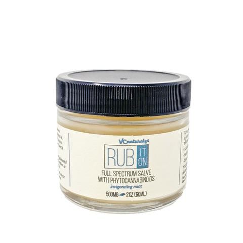 VC Naturalz - Rub It On - Full Spectrum Hemp Mint Salve 500mg