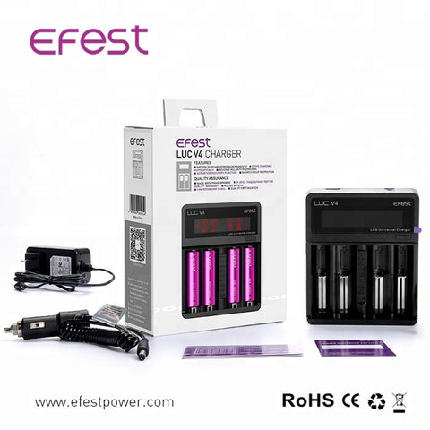 Efest - 6 Bay Battery Charger