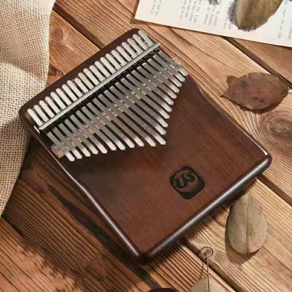 Walter  21 keys  Full Solid Walnut Wood Kalimba