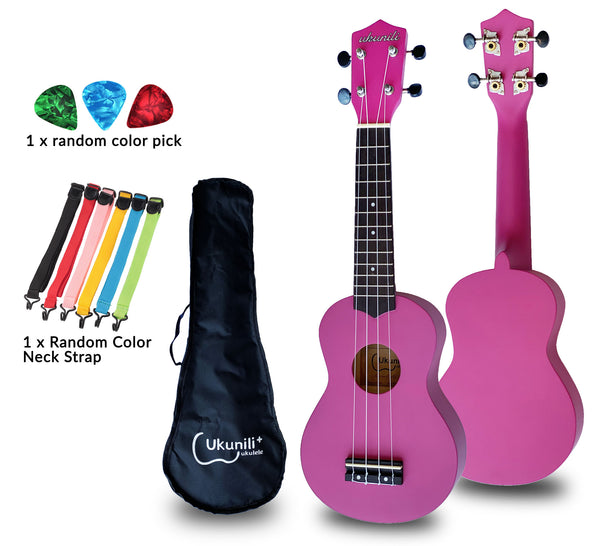 Ukunili Ukulele Soprano 21' Red Purple (Matte)