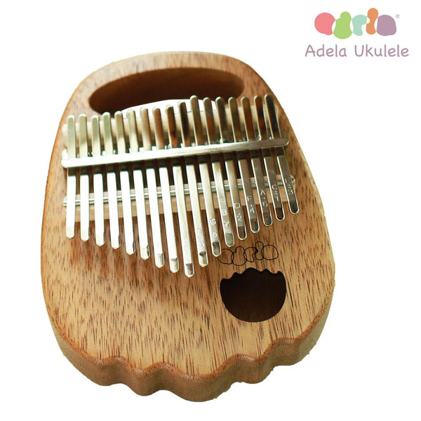 Adela Full Solid Walnut Wood Kalimba