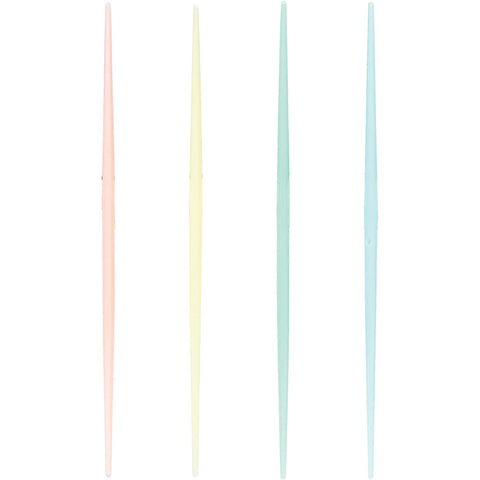 Pastel Appetizer Party Fancy Toothpicks 2.75""