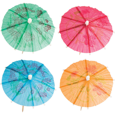 "Parasol Appetizer Party Wooden Picks 4""-Disposable Catering Supplies-Creative Converting-288-"
