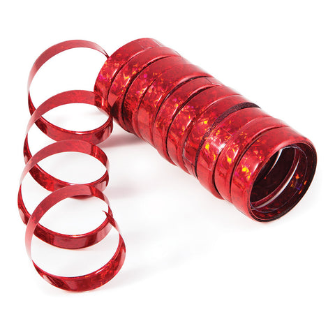 Red Bulk Party Serpentine Streamers & Throws