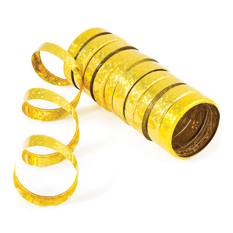 Gold Bulk Party Serpentine Streamers & Throws