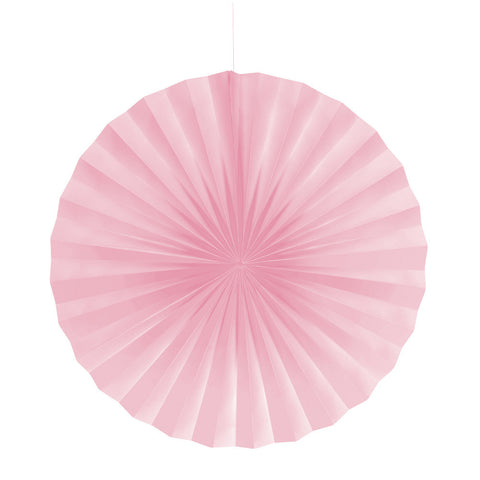 Pink Bulk Party Hanging Paper Fans Decorations-Bulk Party Decorations-Creative Converting-12-