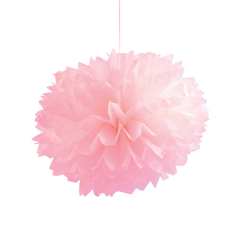 Pink Bulk Party Paper Pom Poms Fluffy Tissue Balls-Bulk Party Decorations-Creative Converting-36-