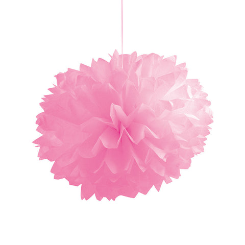 Candy Pink Bulk Party Paper Pom Poms Fluffy Tissue Balls