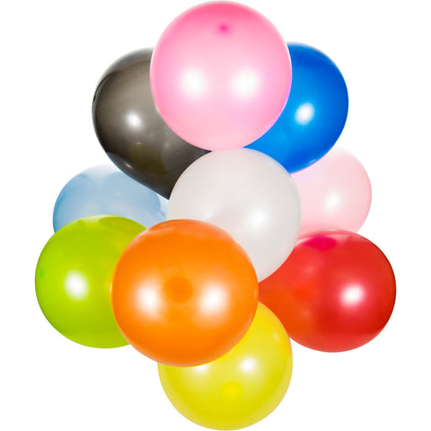 "Assorted Color Bulk Party Latex Balloons 12""-Bulk Party Decorations-Creative Converting-180-"