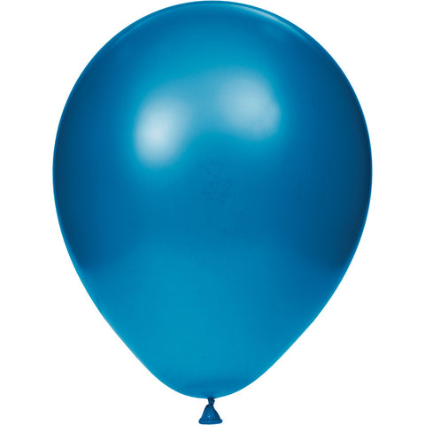 "Blue Bulk Party Latex Balloons 12""-Bulk Party Decorations-Creative Converting-180-"