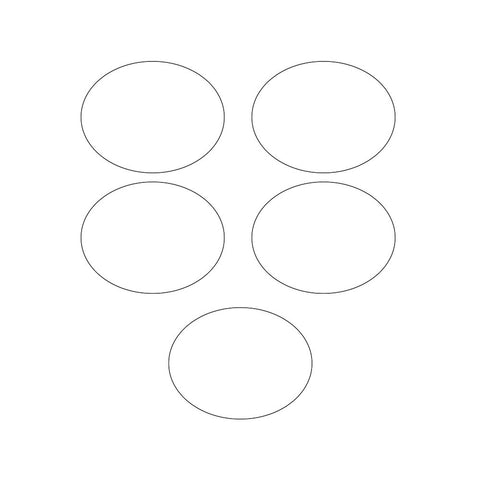 White Bulk Party Labels-Bulk Party Decorations-Creative Converting-120-