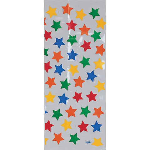 Bulk Party Stars Cello Treat Bags Large