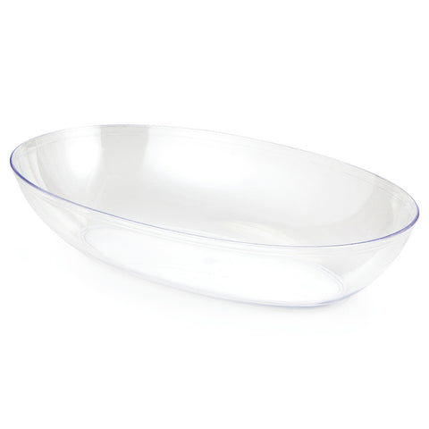 Clear Disposable Catering Oval Bowls Small